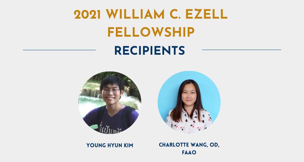 Ezell Fellowships News Item